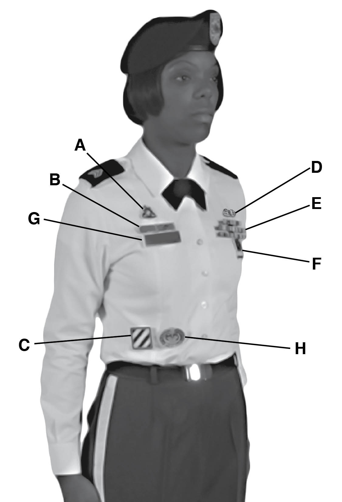 Female Class B Uniform 119