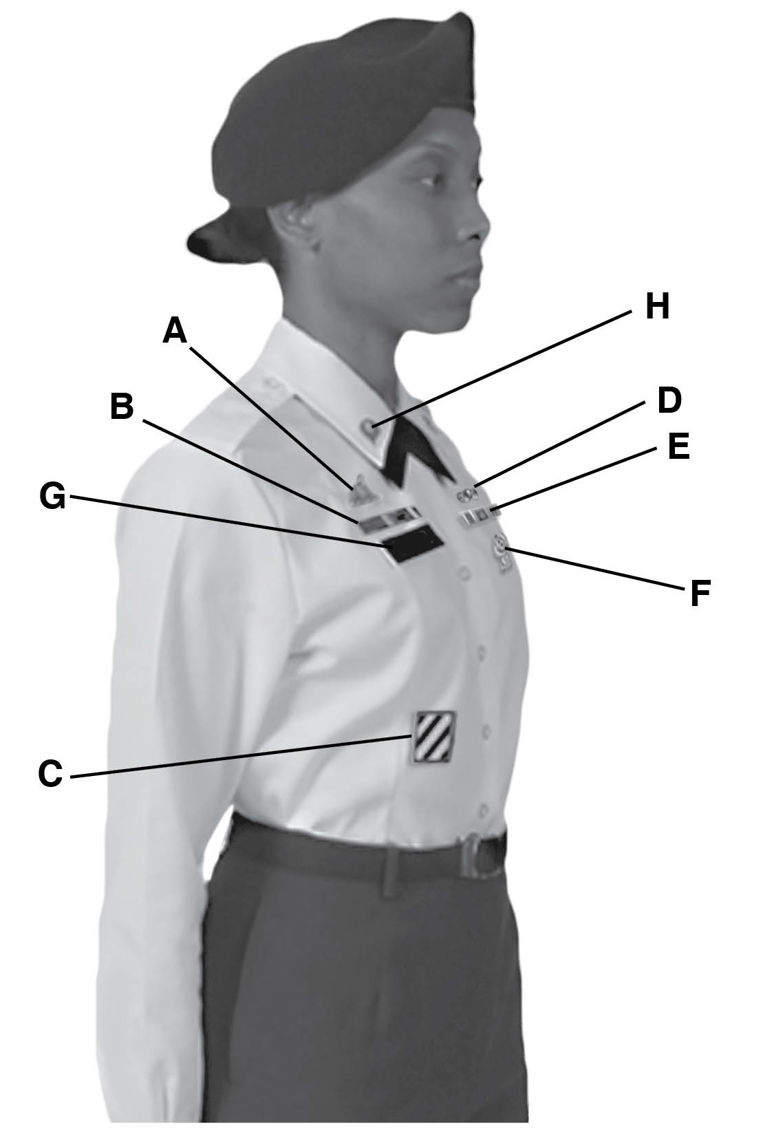 Female Class B Uniform 105