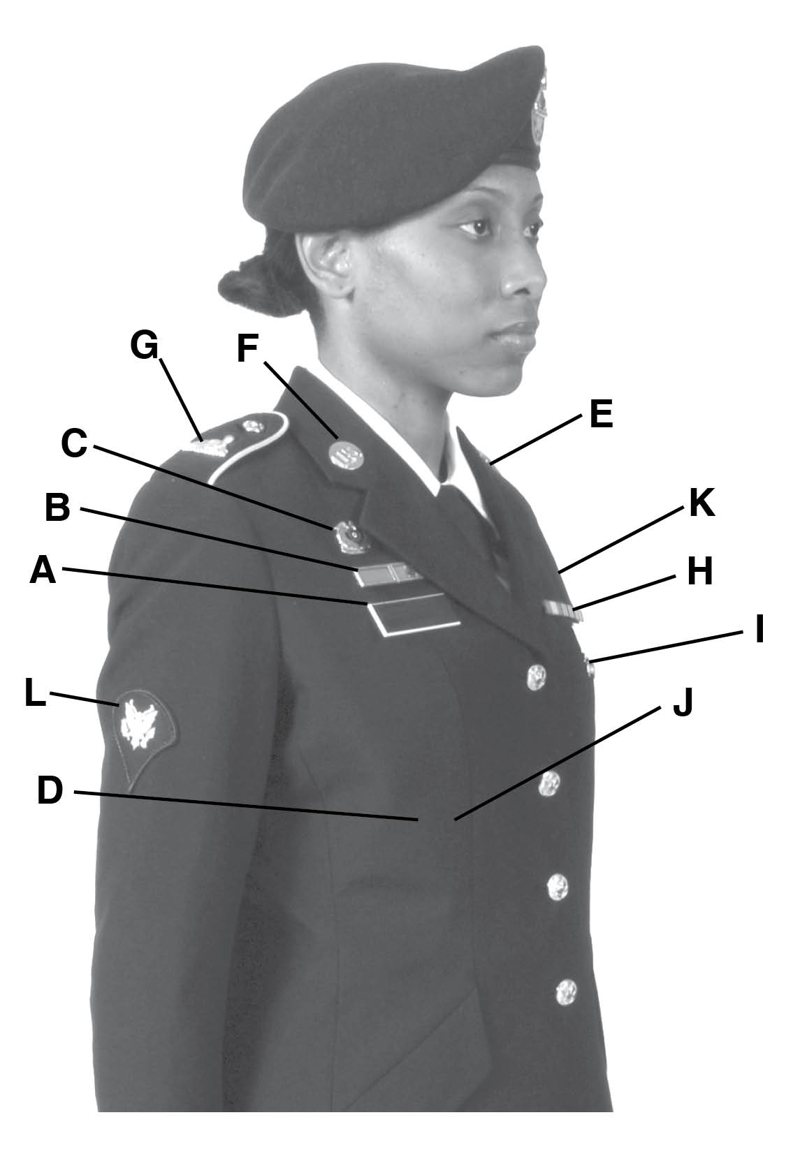 Army service uniform enlisted female pooptronica